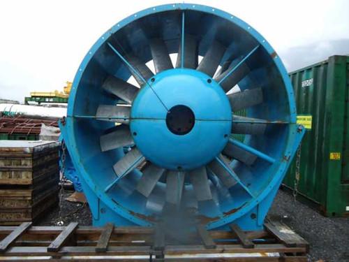 High Capacity Mine Ventilation Fan