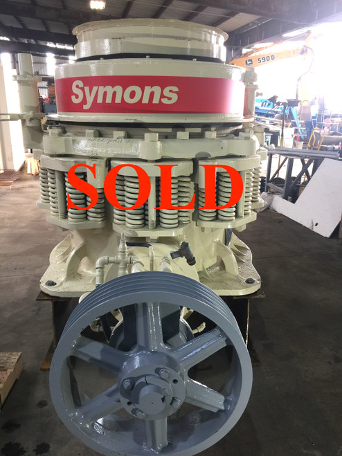 3 ft Symons Standard Cone Crusher