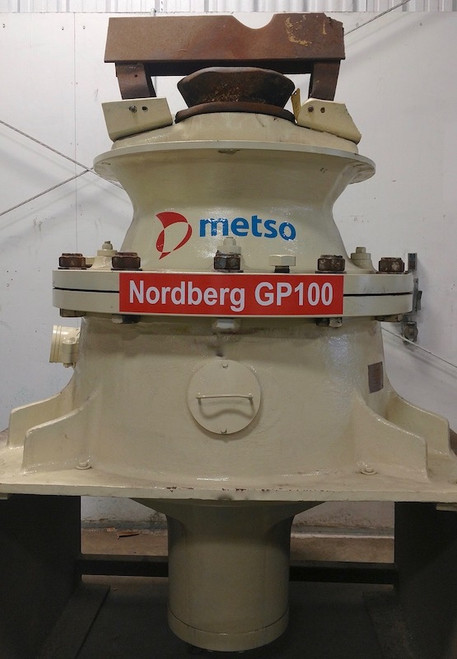 Metso GP100 Cone Crusher with 100 HP for sale