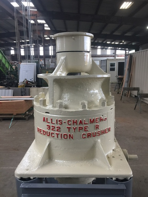 22 in Allis Chalmers Hydrocone Crusher AC 322 Type R