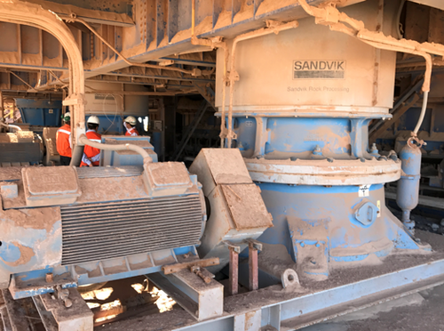 Sandvik S6800 (CS660) Cone Crusher