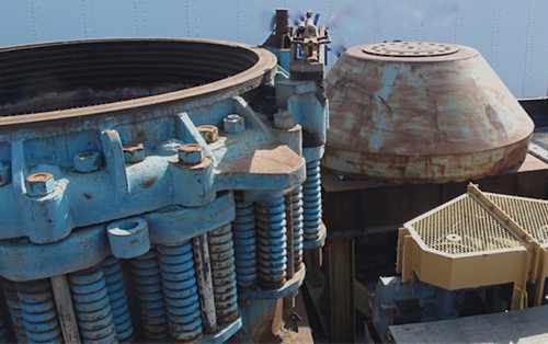 Symons Nordberg 7 ft Heavy Duty Shorthead Cone Crusher - with spares