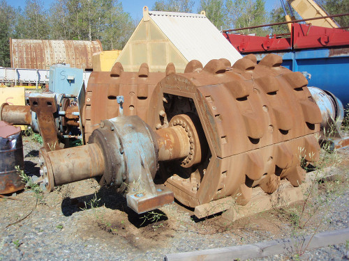 FAM 6.5 x 5 ft Double Roll Crusher