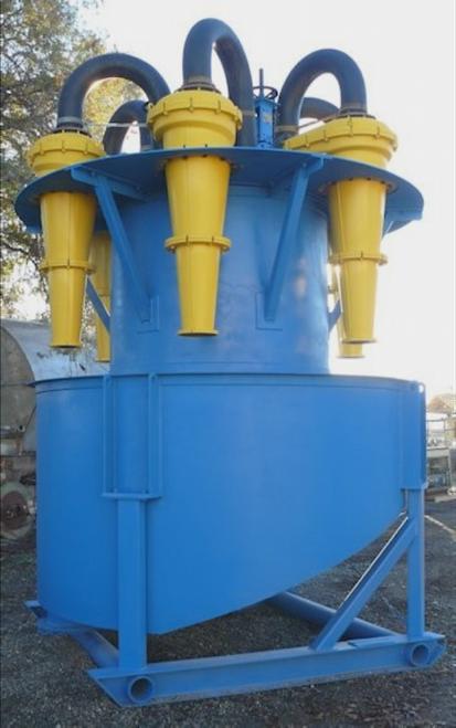 Warman unused 5-cyclone cluster, model 400 CVX10