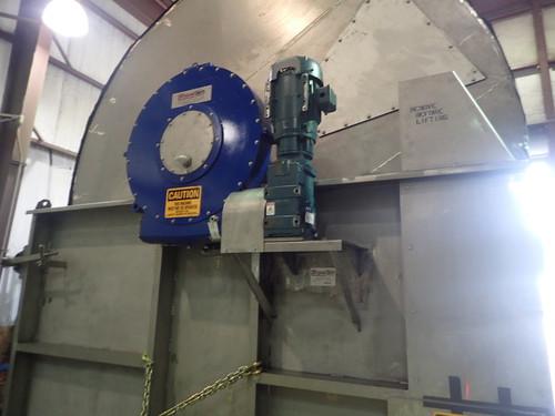 10 x 12 ft Custom Manufactured Scraper Discharge Rotary Drum Vacuum Filter