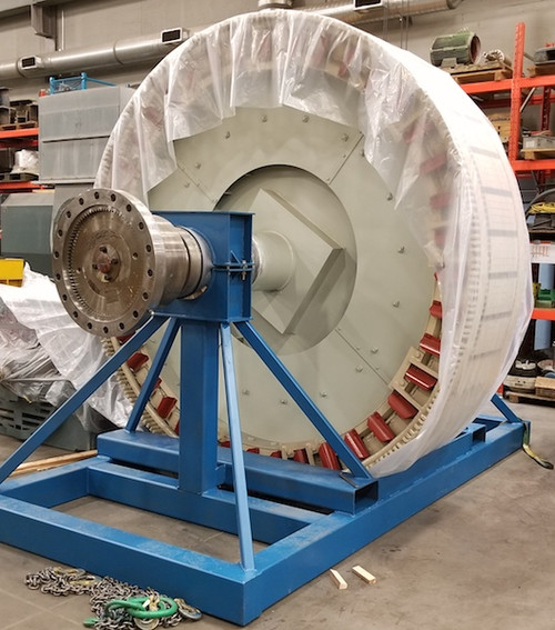 4,000 HP General Electric Synchronous Motor; 180 RPM
