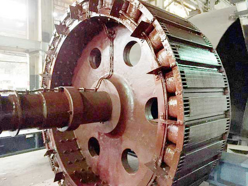 4,500 HP General Electric Synchronous Motor; 200 RPM