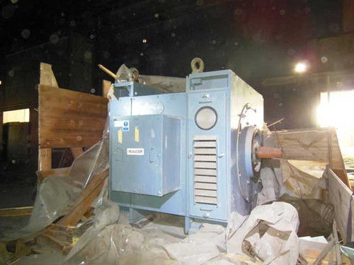 1,000 HP, 430/1290 RPM, 500 VDC Reversing Motor