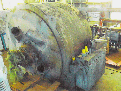 2,000 HP Allis Chalmers synchronous motor; 277 RPM