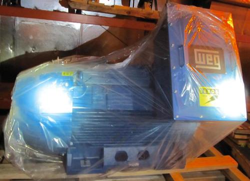 450 HP unused WEG motor: 891 RPM