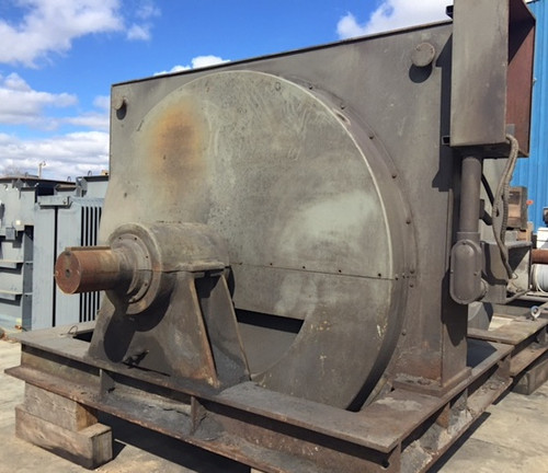 1,250 HP GE synchronous motor: 240 RPM