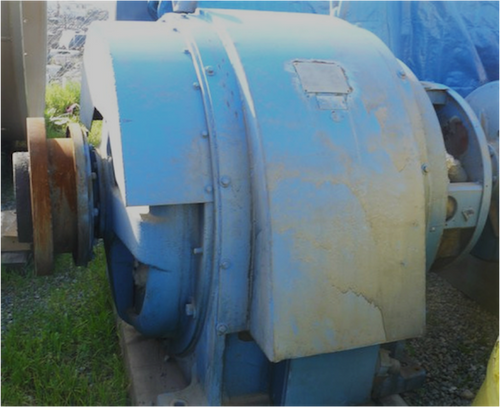 800 HP General Electric Wound Rotor Induction Motor; 885 RPM