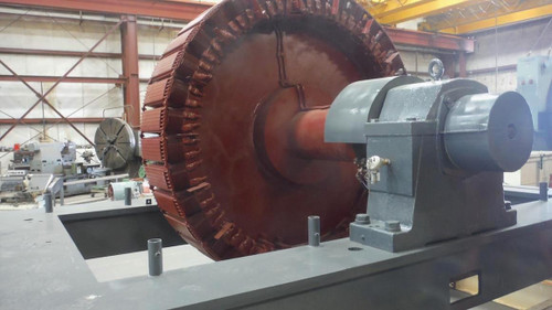 3,000 HP Westinghouse Synchronous Motor; 200 RPM