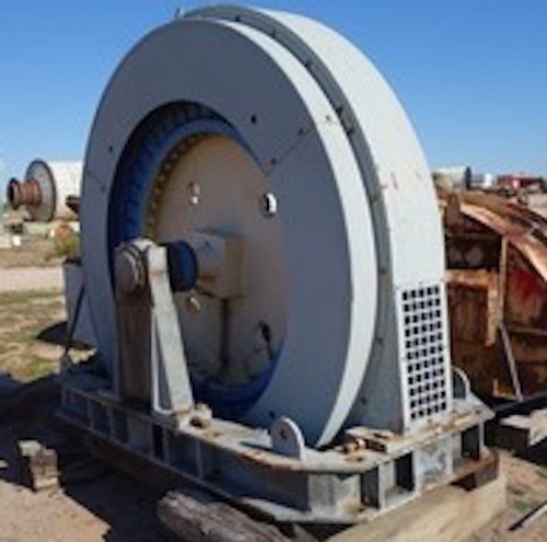 200 HP Synchronous Motor with starter, 180 RPM