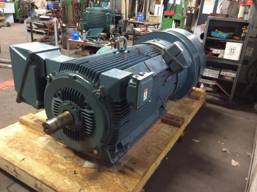 800 HP (600kw) 50 HZ, Siemens Induction Motor - 1,430 RPM
