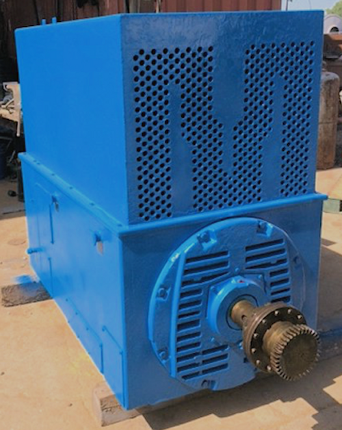 250 HP General Electric Induction Motor; 1,180 RPM