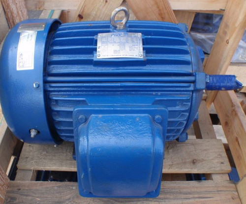 "Unused 5 HP (4 kW), 1200 RPM Teco Westinghouse ""Advantage Plus"" High Efficiency Motor"
