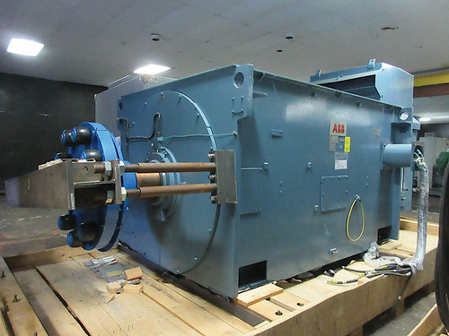 Unused 7,500 HP ABB Induction motors; 895 RPM