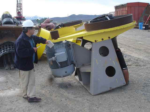 1,342 ft3 Outokumpu 38 (38 m3) Flotation Equipment