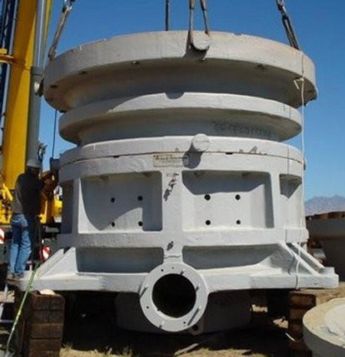 60 x 89 in Allis Chalmers Gyratory Crusher
