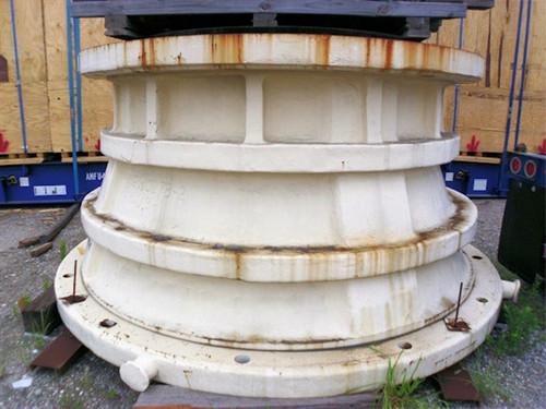 50 x 65 in Unused surplus Metso MKII gyratory crusher