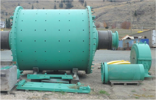 9 x 10 ft Allis Chalmers ball mill