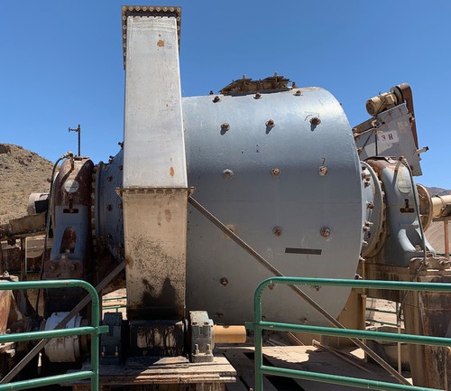 8 x 6 ft Hardinge conical ball mill