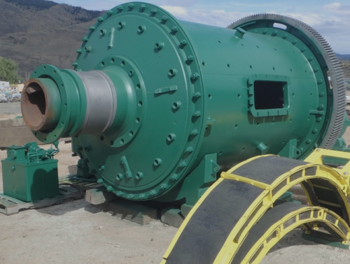 6.5 x 10.5 ft ball mill with 200 HP
