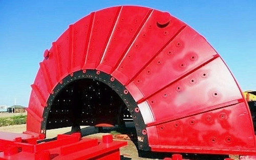 24 x 8 ft Hardinge SAG Mill