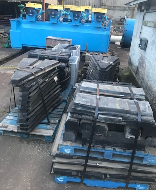 Rubber Lining Materials - 5 pallets