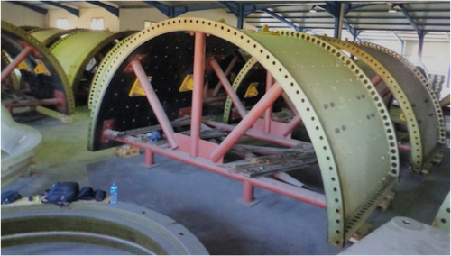 Unused 22 x 38 ft Metso Ball Mill with 13,400 HP