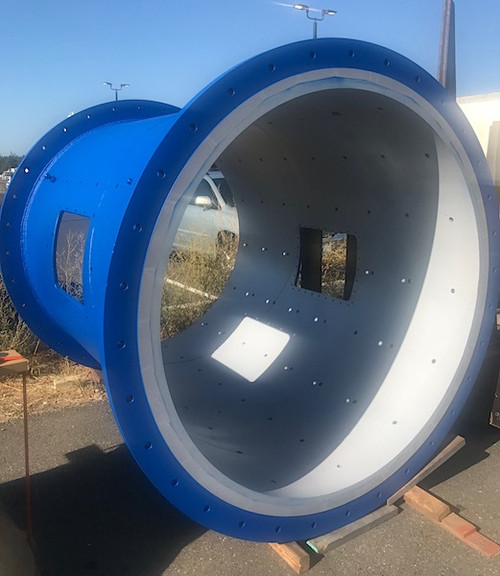 7 x 10 ft Marcy ball mill