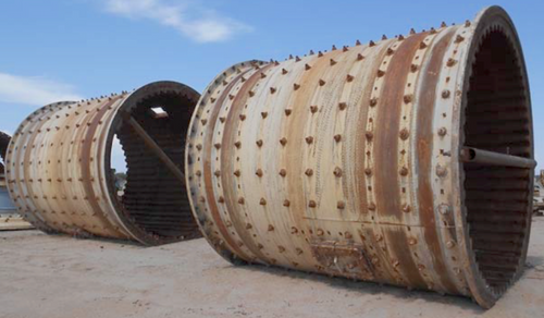 12 x 14 ft Marcy Ball Mill with 1,500 HP