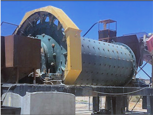 6 x 14 ft Allis Chalmers ball mill with 250 HP