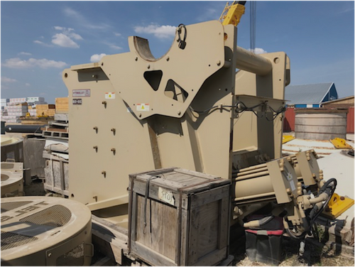 3,000 - 4,500 TPD unused crushing and grinding plant