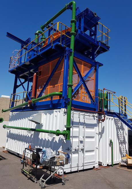 10 - 15 TPH Gold and heavy metal gravity recovery plant