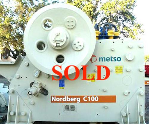 C100 Metso Nordberg Jaw Crusher