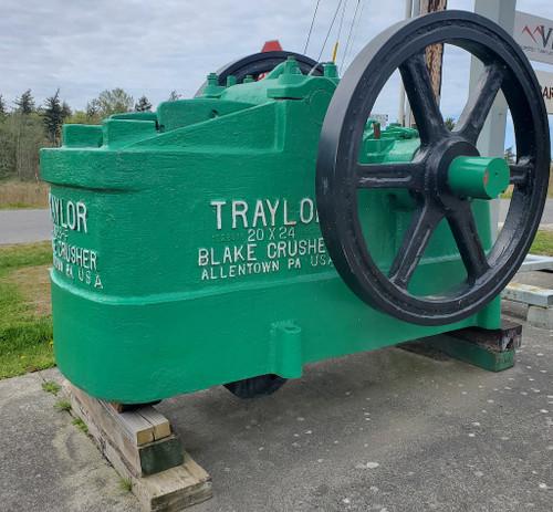 20 x 24 in Traylor Heavy Duty Jaw Crusher