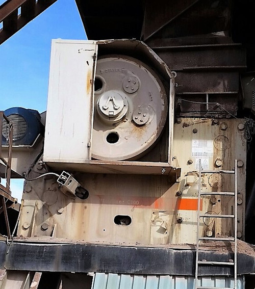 30 x 40 in Metso C100 jaw crusher