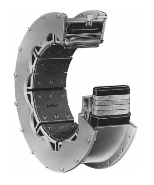 Eaton 38 VC 1200 Air clutch