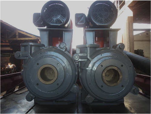 6 x 4 in Warman Style Horizontal Pump