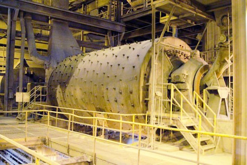 14 x 24 ft Traylor Ball Mill with 2,500 HP