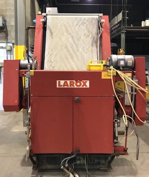 Larox PF12.5 vertical pressure skid mounted
