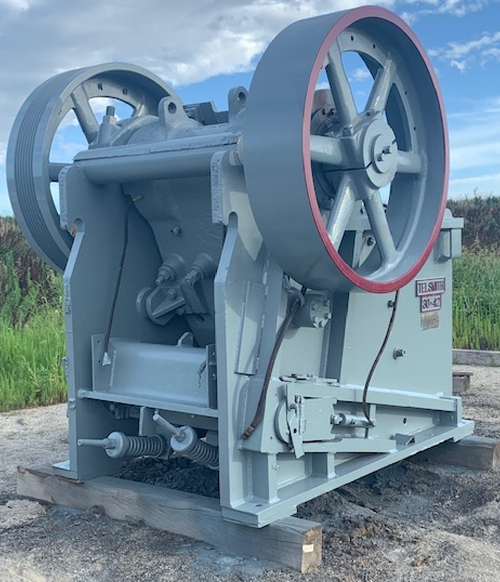 30 x 42 in Telsmith jaw crusher