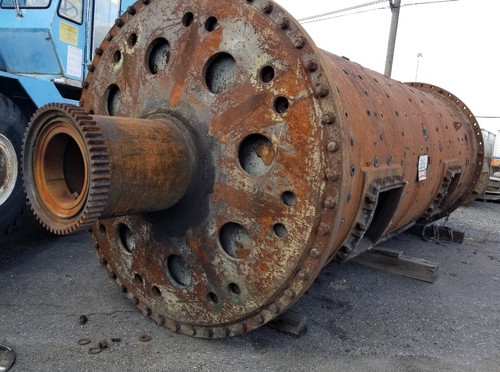 7 x 18 ft (~2 x 5.5m) Allis Chalmers ball mill with 350 HP