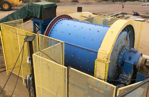 7 x 10 ft (~2 x 3 m) Marcy Ball Mill with 200 HP (150 kW)