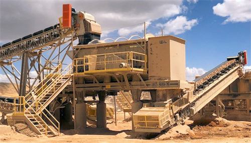 13-20,000 TPD Heap Leaching Crushing plant
