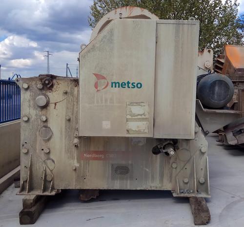 30 x 40 inch Metso C100 jaw crusher
