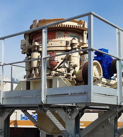 HP100 Metso Nordberg cone crusher