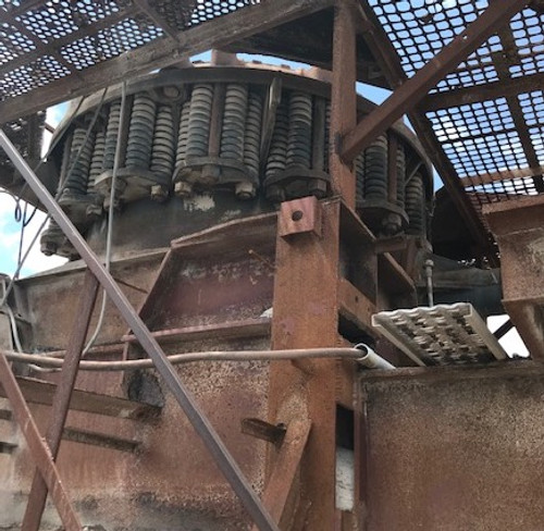 5.5 ft Symons shorthead cone crusher